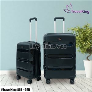 VALI TRAVELKING 855 SIZE 24 ĐEN