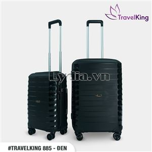 VALI TRAVELKING 885 SIZE 24 ĐEN