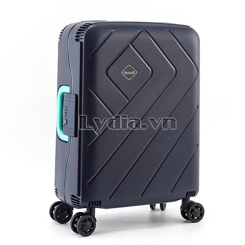 Vali kéo khung nhôm BUBULE-EL 28inch màu xanh than