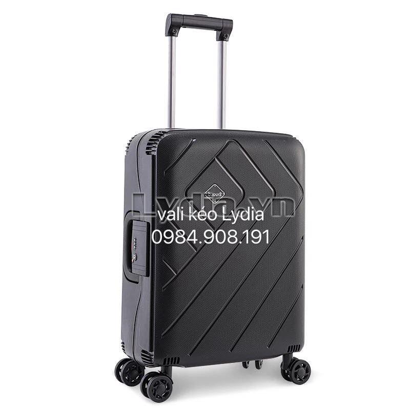 Vali kéo khung nhôm BUBULE-EL 28inch màu đen