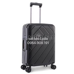 Vali kéo khung nhôm BUBULE-EL 24inch màu đen