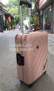 Vali kéo khung nhôm BUBULE-EL 24inch màu socola