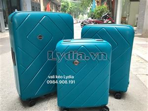 Vali kéo khung nhôm BUBULE-EL 24inch màu xanh lá