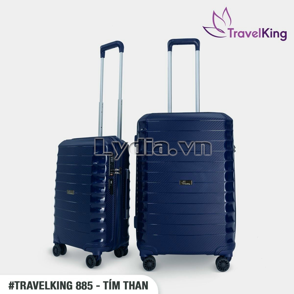 XẢ KHO TRAVELKING 885 SIZE 24 XANH THAN SALE 45%